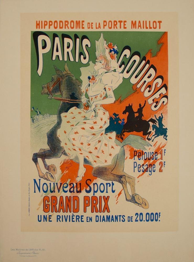 Paris Courses Posteri, Opera, Tiyatro, Poster Satış, all posters, kanvas tablo, canvas print sales