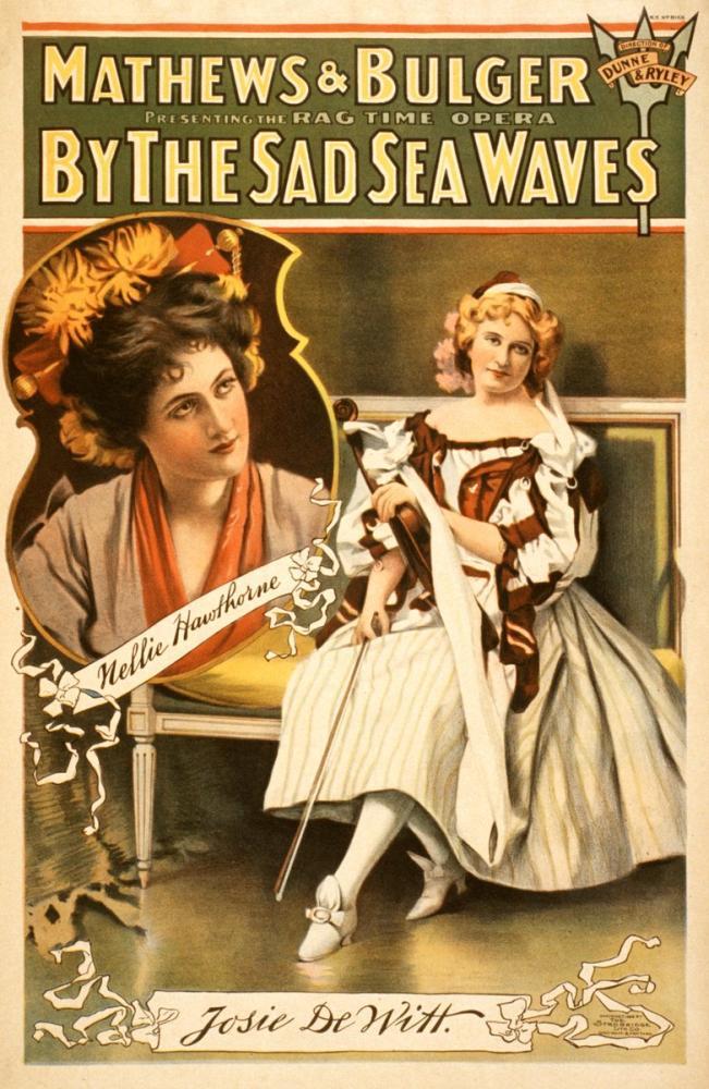 By the Sad Sea Waves Opera Poster, Opera, Theater, Poster Satış, all posters, kanvas tablo, canvas print sales