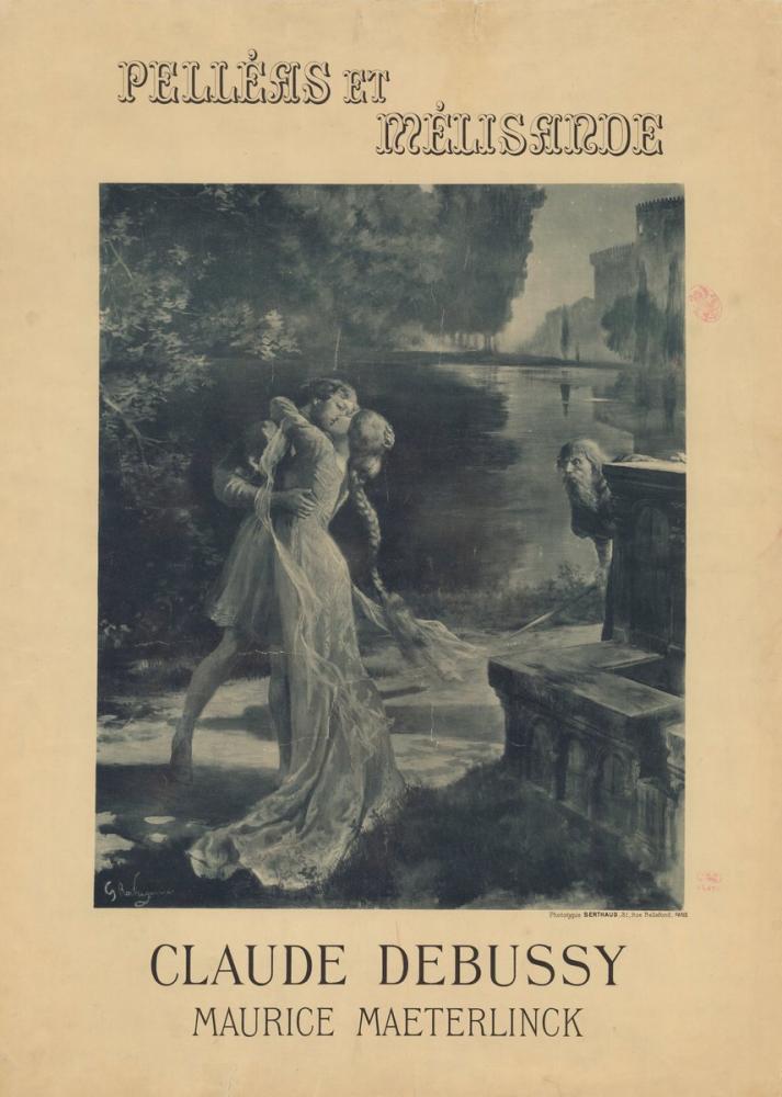 Pelléas et Mélisande Poster, Opera, Theater, Poster Satış, all posters, kanvas tablo, canvas print sales