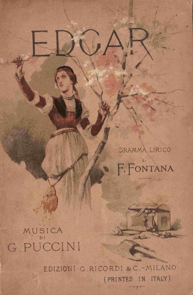 Puccini s Edgar Opera Posteri, Opera, Tiyatro, Poster Satış, all posters, kanvas tablo, canvas print sales