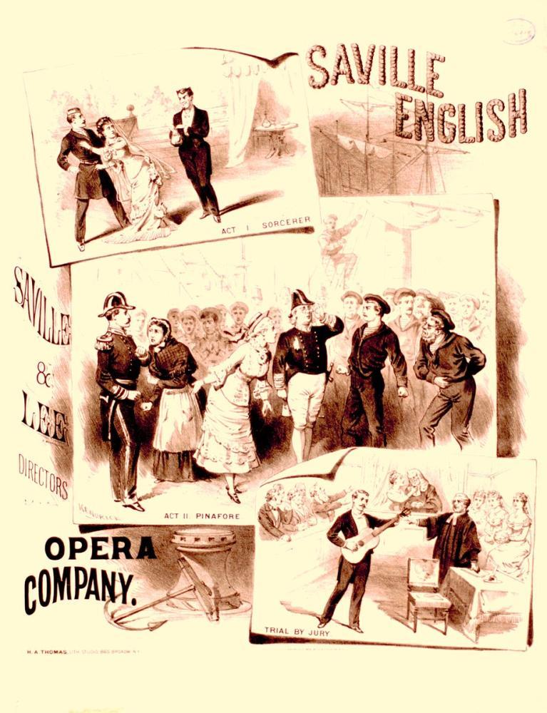 Saville English Opera Posteri, Opera, Tiyatro, Poster Satış, all posters, kanvas tablo, canvas print sales