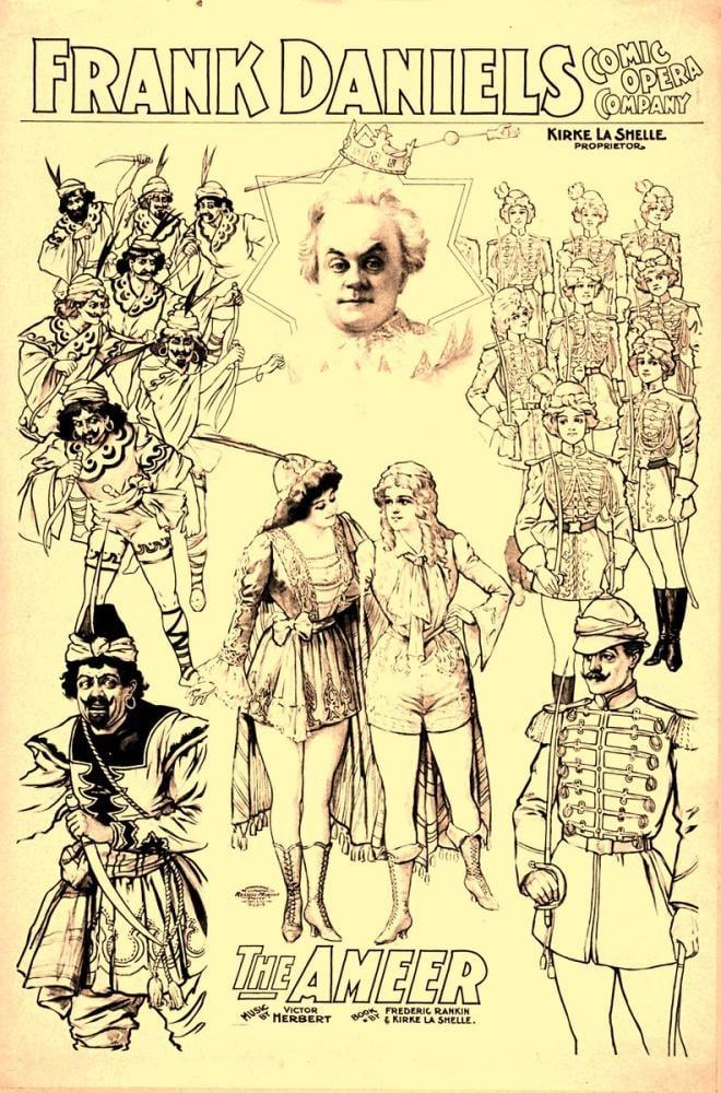 The Ameer Opera Poster, Opera, Theater, Poster Satış, all posters, kanvas tablo, canvas print sales