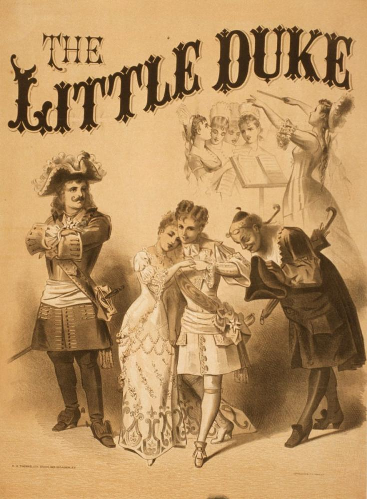 The Little Duke Poster, Opera, Theater, Poster Satış, all posters, kanvas tablo, canvas print sales