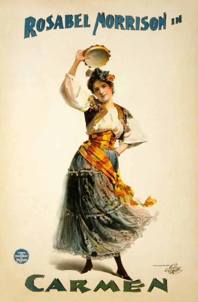 Carmen 3 Opera Poster, Opera, Theater, Poster Satış, all posters, kanvas tablo, canvas print sales