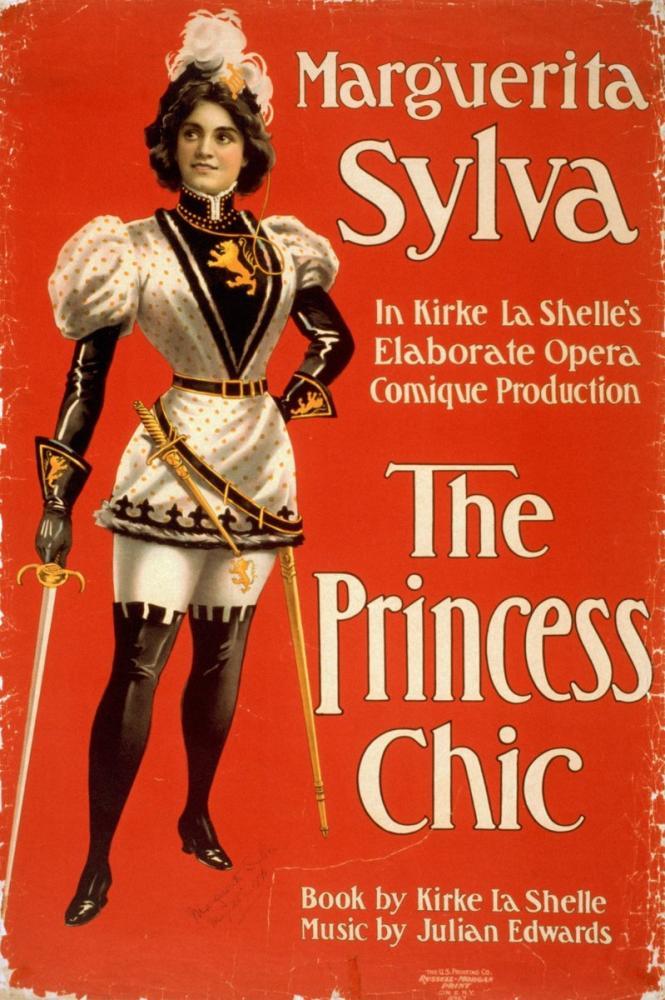 The Princess Chic Posteri, Opera, Tiyatro, Poster Satış, all posters, kanvas tablo, canvas print sales
