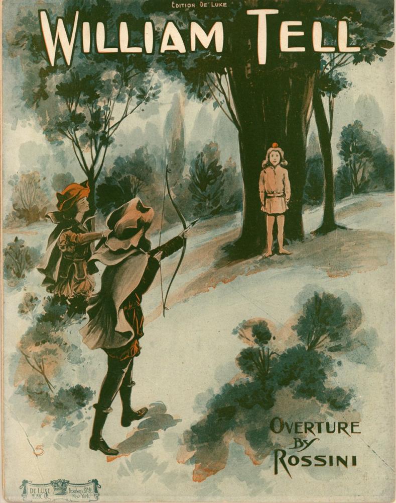 William Tell Poster, Opera, Theater, Poster Satış, all posters, kanvas tablo, canvas print sales