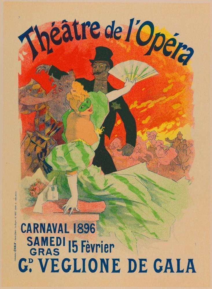 Carnaval 1896 Poster, Opera, Theater, Poster Satış, all posters, kanvas tablo, canvas print sales