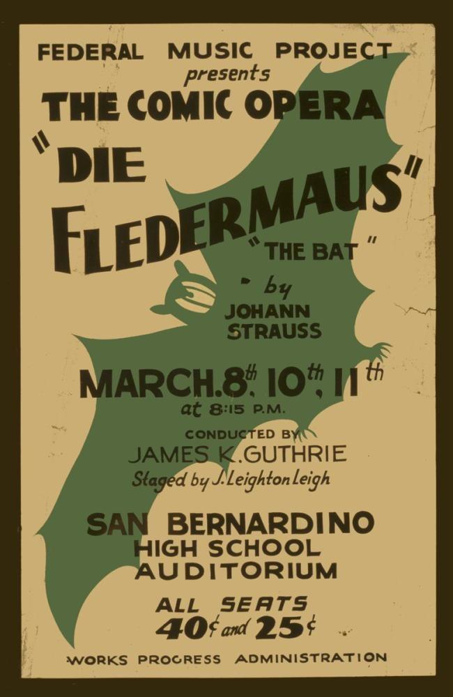 Die Fledermaus Opera Poster, Opera, Theater, Poster Satış, all posters, kanvas tablo, canvas print sales