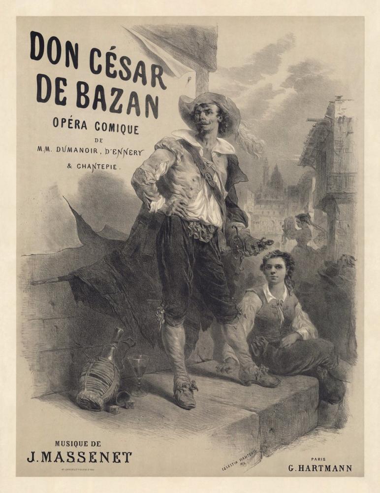 Don César de Bazan Opera Posteri, Opera, Tiyatro, Poster Satış, all posters, kanvas tablo, canvas print sales