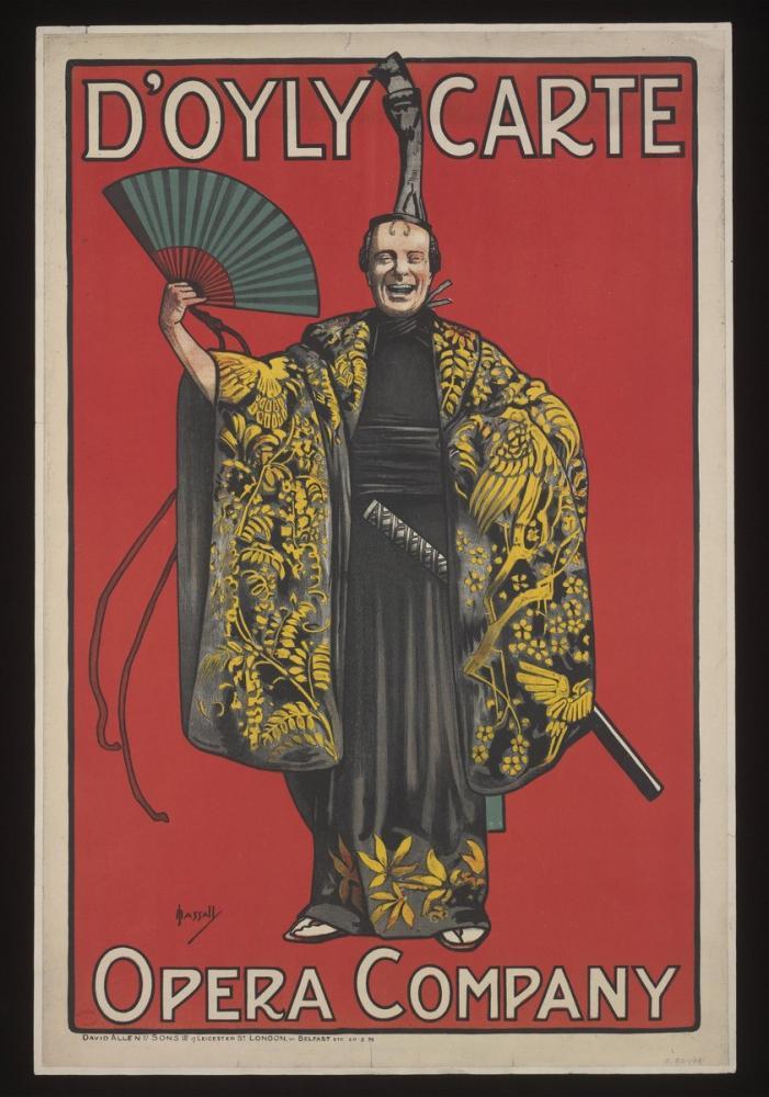 Doyly Carte Opera Posteri, Opera, Tiyatro, Poster Satış, all posters, kanvas tablo, canvas print sales