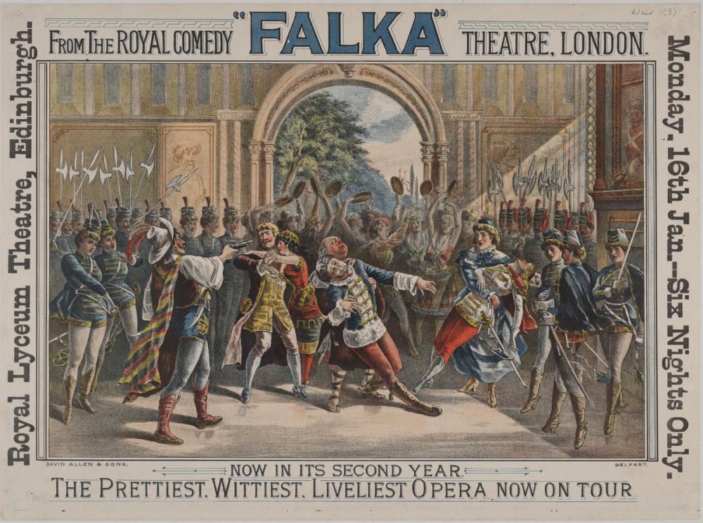 Falka Opera Posteri, Opera, Tiyatro, Poster Satış, all posters, kanvas tablo, canvas print sales