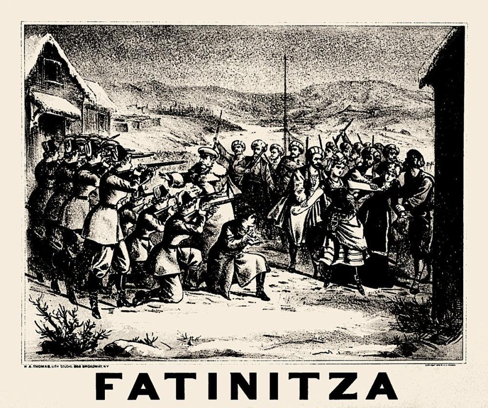 Fatinitza Opera Poster, Opera, Theater, Poster Satış, all posters, kanvas tablo, canvas print sales