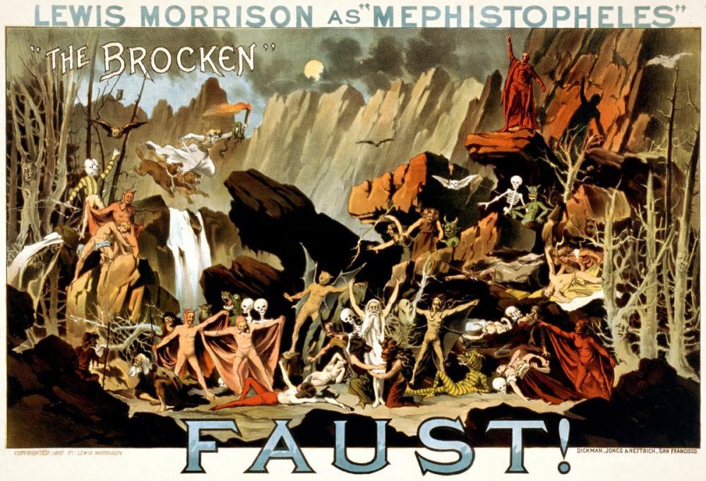 Faust Theater Poster, Opera, Theater, Poster Satış, all posters, kanvas tablo, canvas print sales
