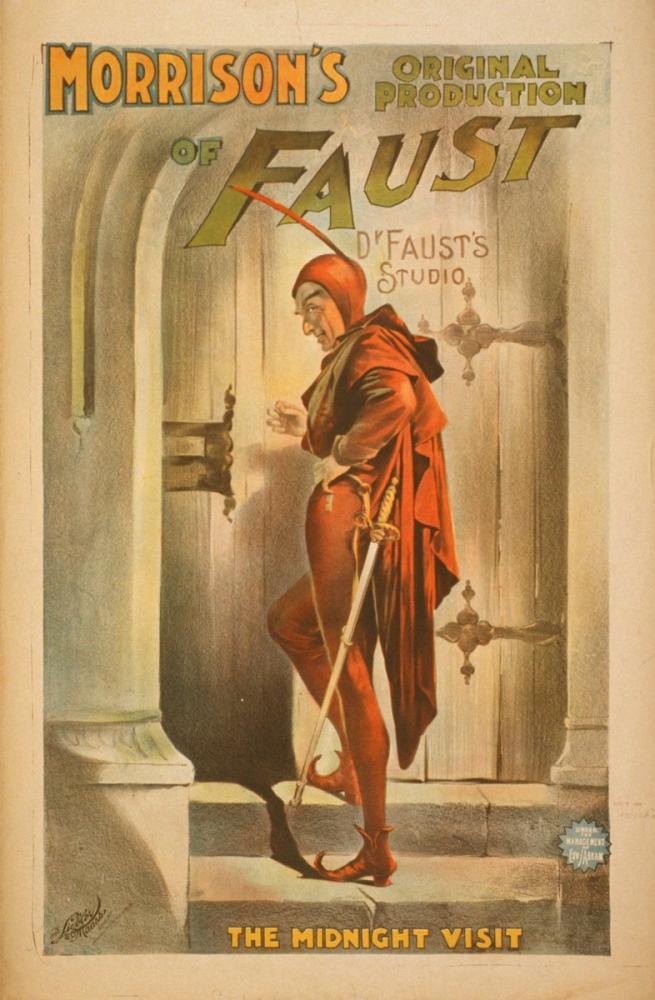 Faust 4 Theater Poster, Opera, Theater, Poster Satış, all posters, kanvas tablo, canvas print sales