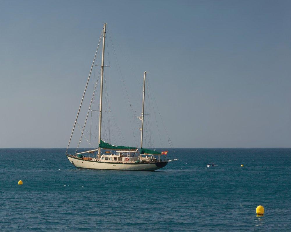 Yaz Aylarında Tekne Posteri, Gemi, Poster Satış, all posters, kanvas tablo, canvas print sales