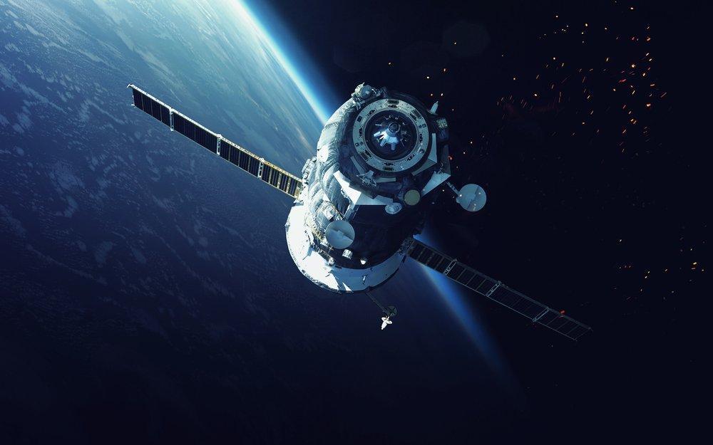Space Satellite Poster, Space, Poster Satış, all posters, kanvas tablo, canvas print sales