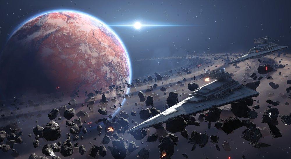 Yıldız Savaşları: Savaş Cephesi Posteri, Uzay, Poster Satış, all posters, kanvas tablo, canvas print sales