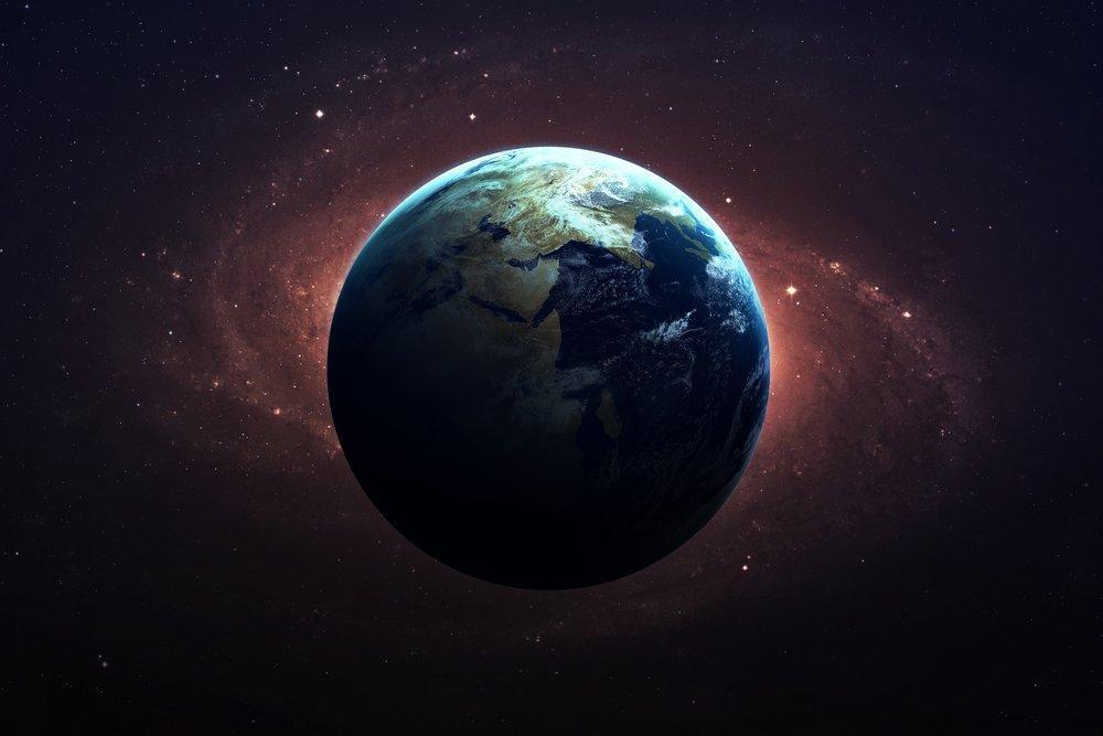 Yalnız Dünya Posteri, Uzay, Poster Satış, all posters, kanvas tablo, canvas print sales