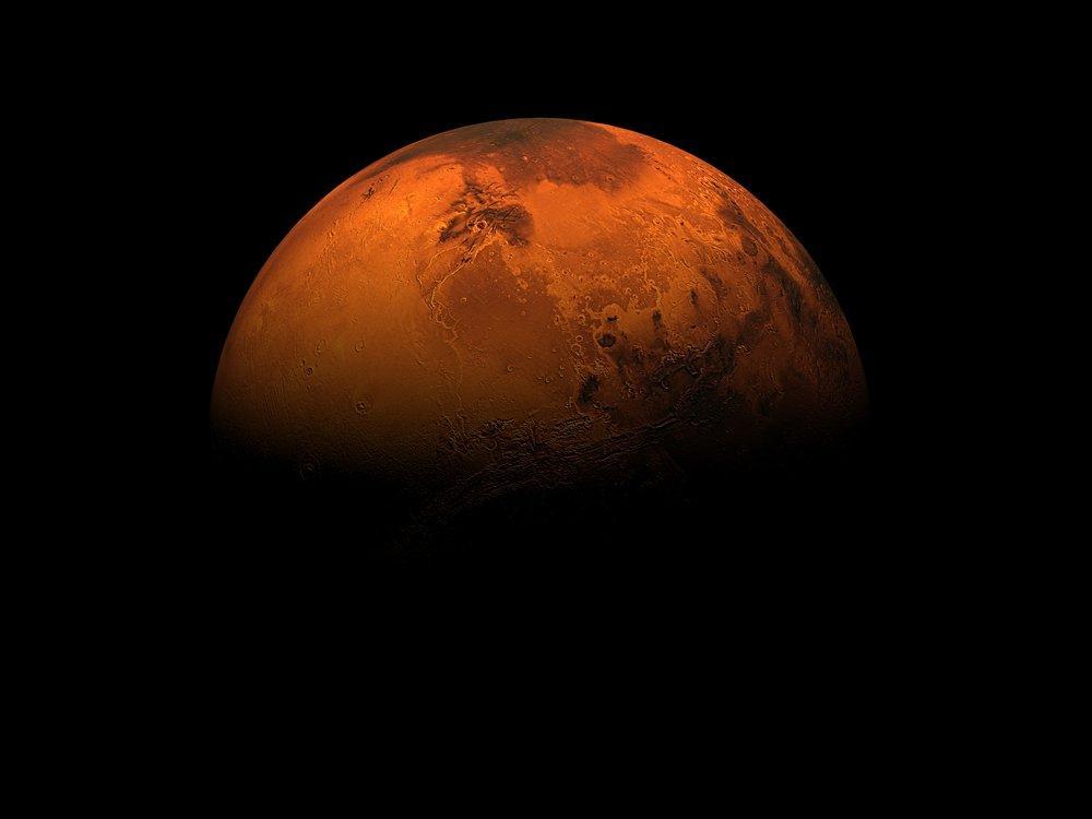 Mars Poster, Space, Poster Satış, all posters, kanvas tablo, canvas print sales