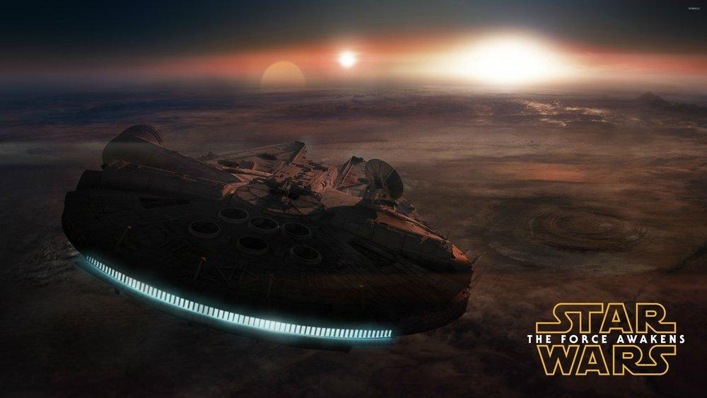 Star Wars Force Awakens Poster, Space, Poster Satış, all posters, kanvas tablo, canvas print sales