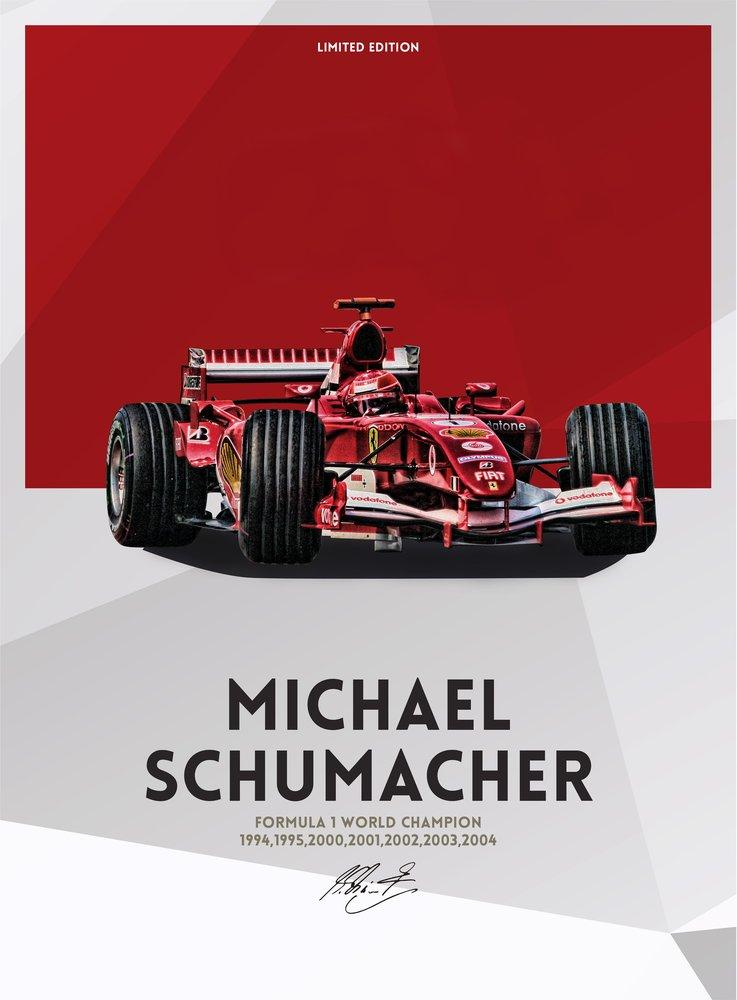 Michael Schumacher Poster, Sport, Poster Satış, all posters, kanvas tablo, canvas print sales