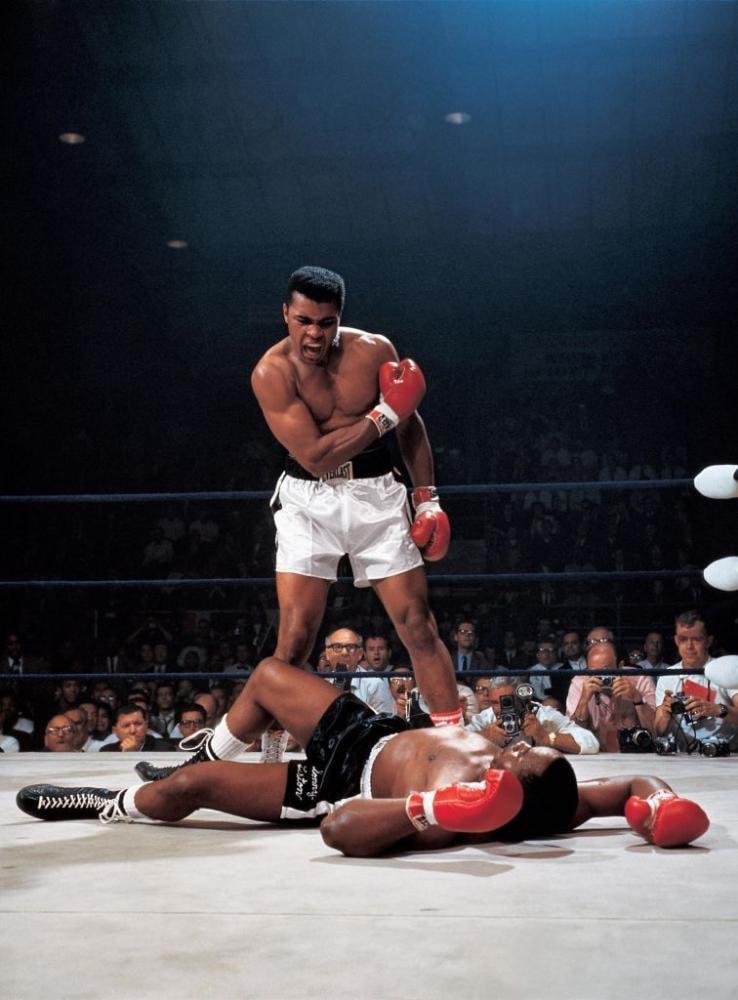 Muhammed Ali Fighting Poster, Sport, Poster Satış, all posters, kanvas tablo, canvas print sales