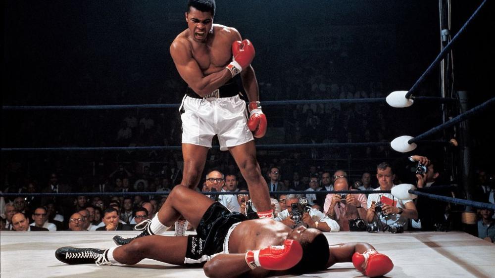 Muhammed Ali on Ring Poster, Sport, Poster Satış, all posters, kanvas tablo, canvas print sales