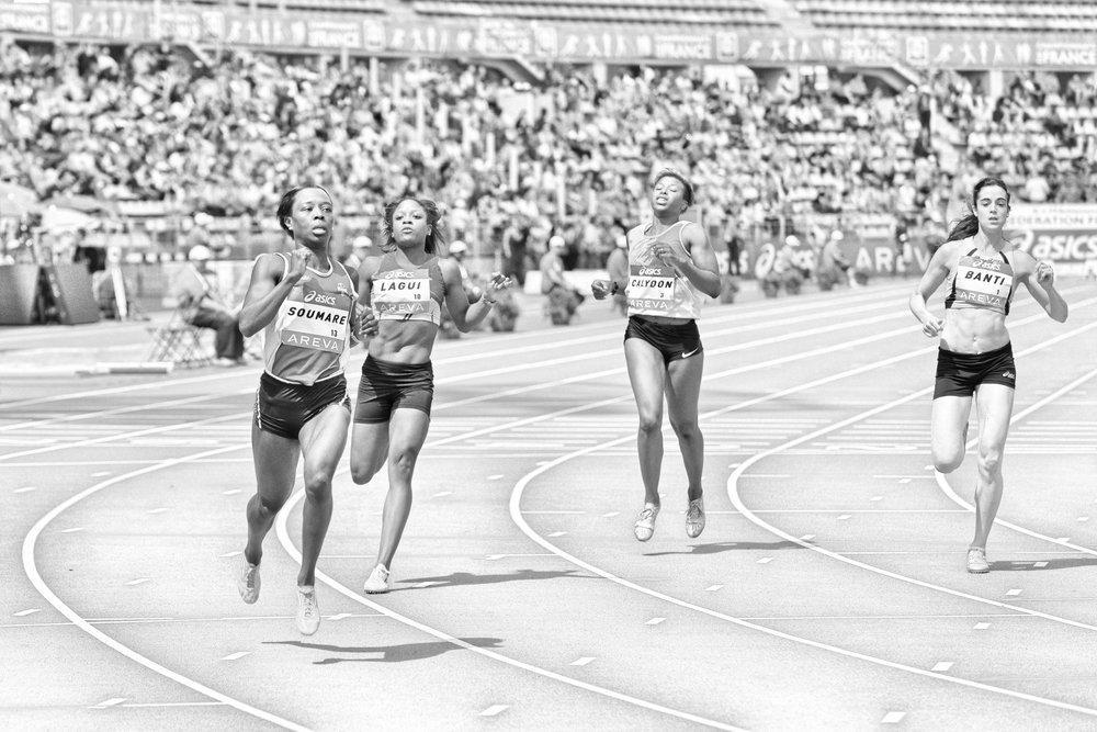 Bayanlar 100m Atletizm Şampiyonası Posteri, Spor, Poster Satış, all posters, kanvas tablo, canvas print sales