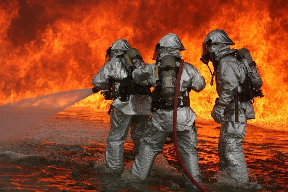 Aircraft Rescue Firefighting Training Poster, Landscape, Poster Satış, all posters, kanvas tablo, canvas print sales