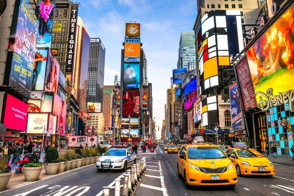 New York Times Square Poster 2, Landscape, Poster Satış, all posters, kanvas tablo, canvas print sales