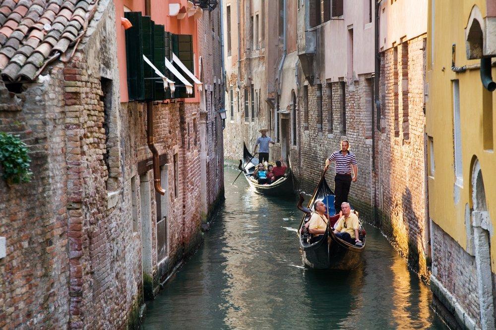 Venice and Gondolas Poster, Landscape, Poster Satış, all posters, kanvas tablo, canvas print sales
