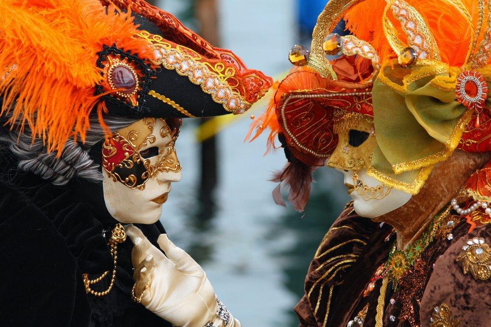 Venedik Karnavalı Maskeli Aşıklar Posteri, Manzara, Poster Satış, all posters, kanvas tablo, canvas print sales