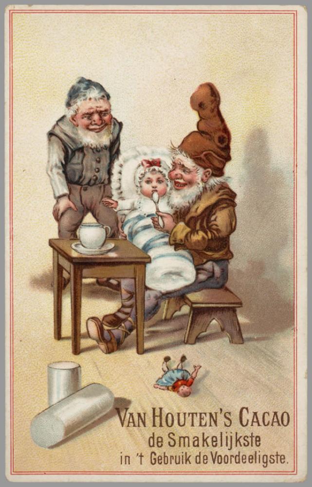 Van Houten s Cacao Vintage Poster 3, Vintage, Poster Satış, all posters, kanvas tablo, canvas print sales