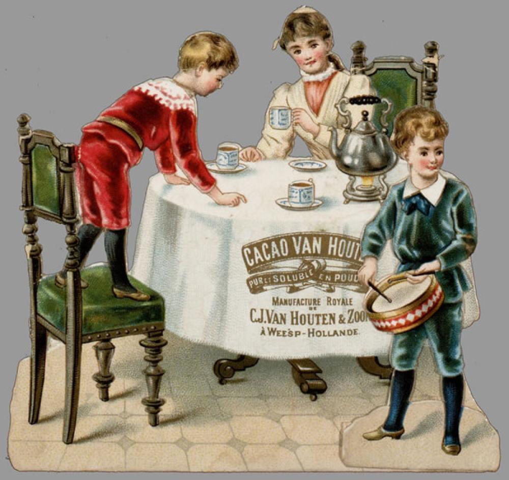 Cacao Van Houten Vintage Poster 6, Vintage, Poster Satış, all posters, kanvas tablo, canvas print sales