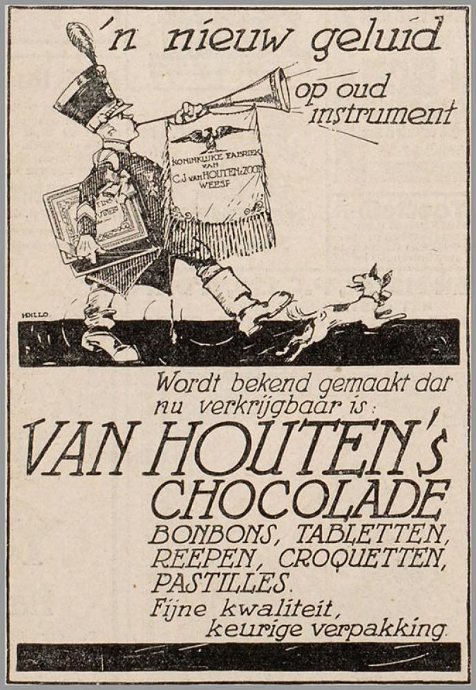 Van Houten s Chocolate Poster, Vintage, Poster Satış, all posters, kanvas tablo, canvas print sales