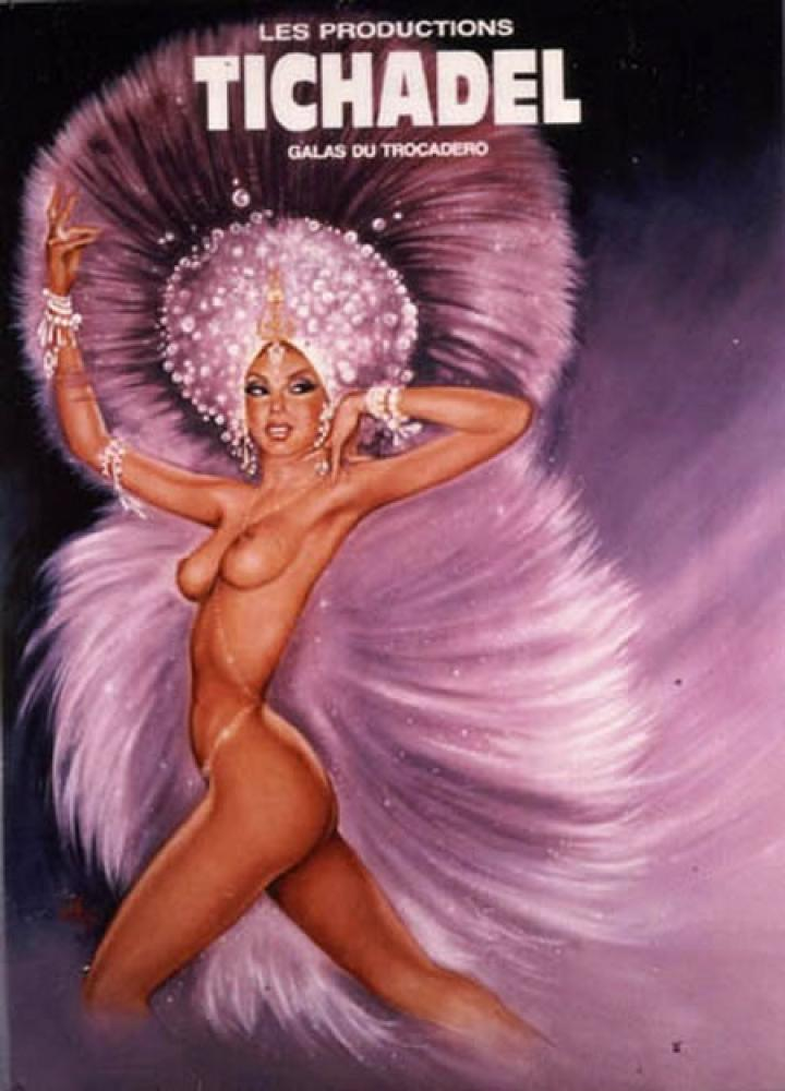 Tichadel Vintage Poster, Vintage, Poster Satış, all posters, kanvas tablo, canvas print sales