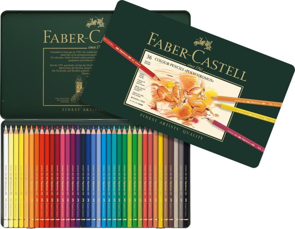 Faber Castell Polychromos Kuru Boya Kalemi, 36 Renk, Boya Kalemleri, Marka: Faber Castell, kanvas tablo, canvas print sales