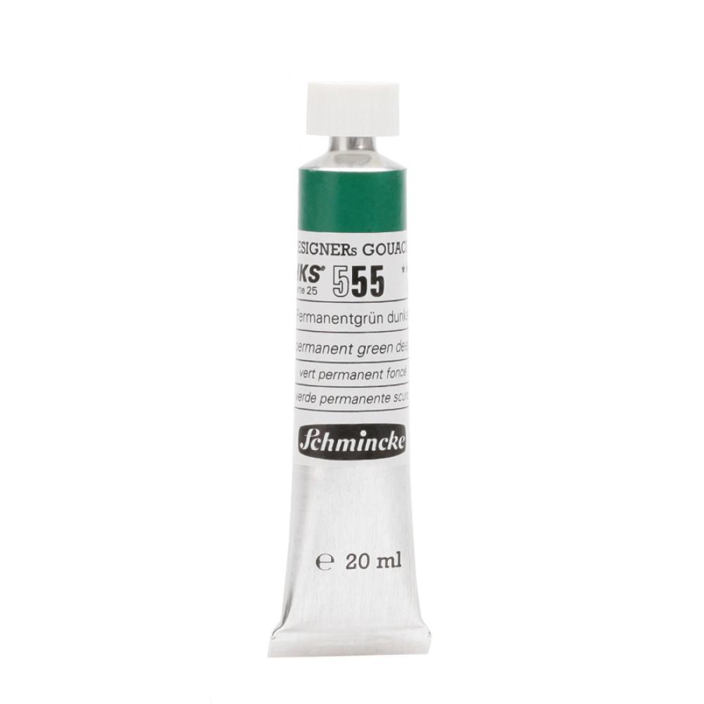 Schmincke HKS Designers Gouache Kalıcı Yeşil Deep 555 - 20 ml Guaj Boya, Guaj Boya, Schmincke, kanvas tablo, canvas print sales