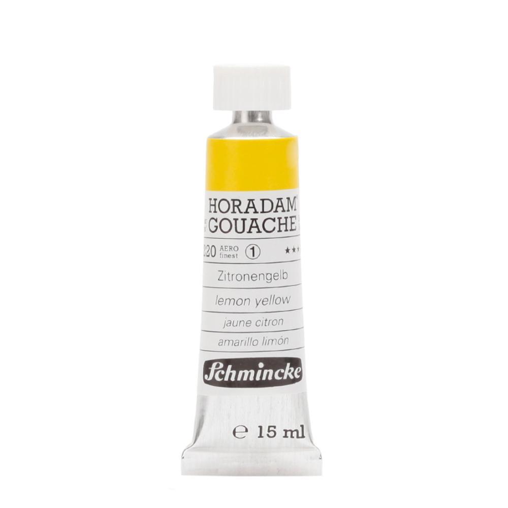 Schmincke Horadam Gouache Limon Sarısı 220  - 15 ml Guaj Boya, Guaj Boya, Schmincke, kanvas tablo, canvas print sales