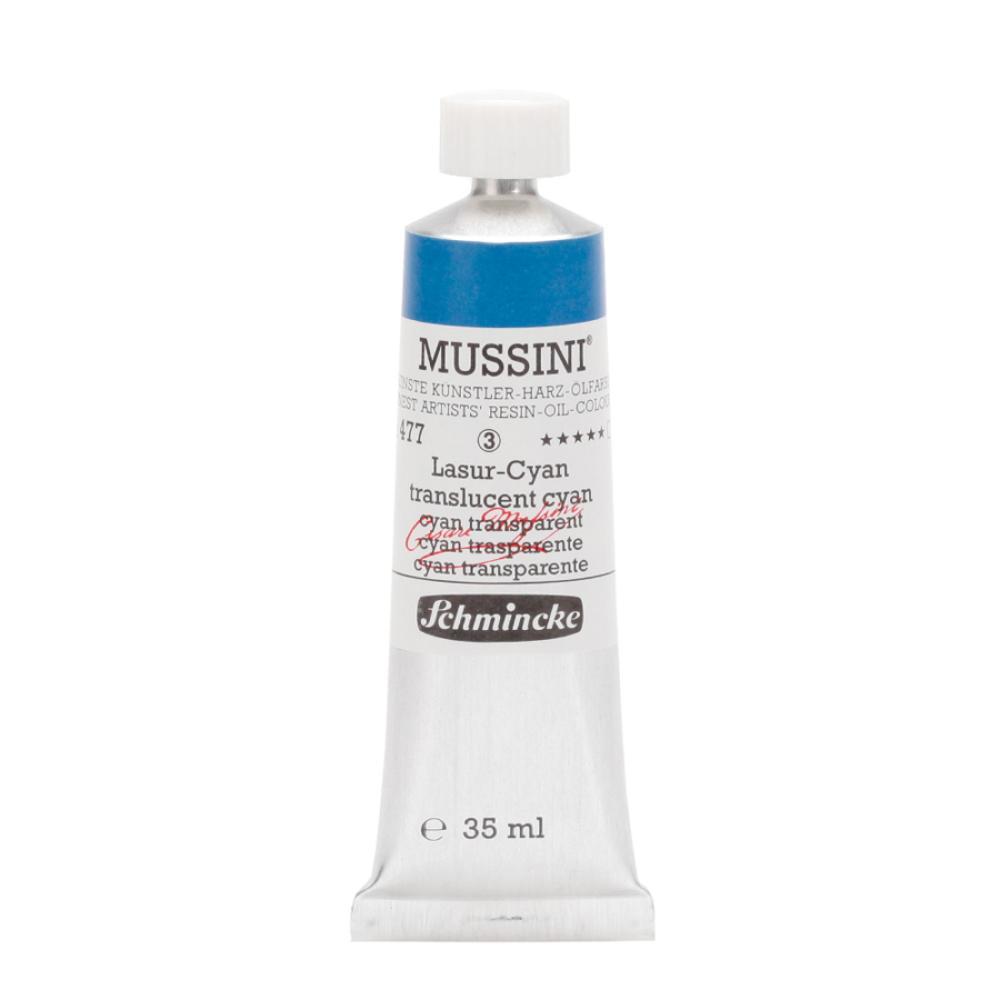 Schmincke Mussini Translucent Cyan 477 Yağlı Boya 35 ml, Yağlı Boya, Schmincke, kanvas tablo, canvas print sales