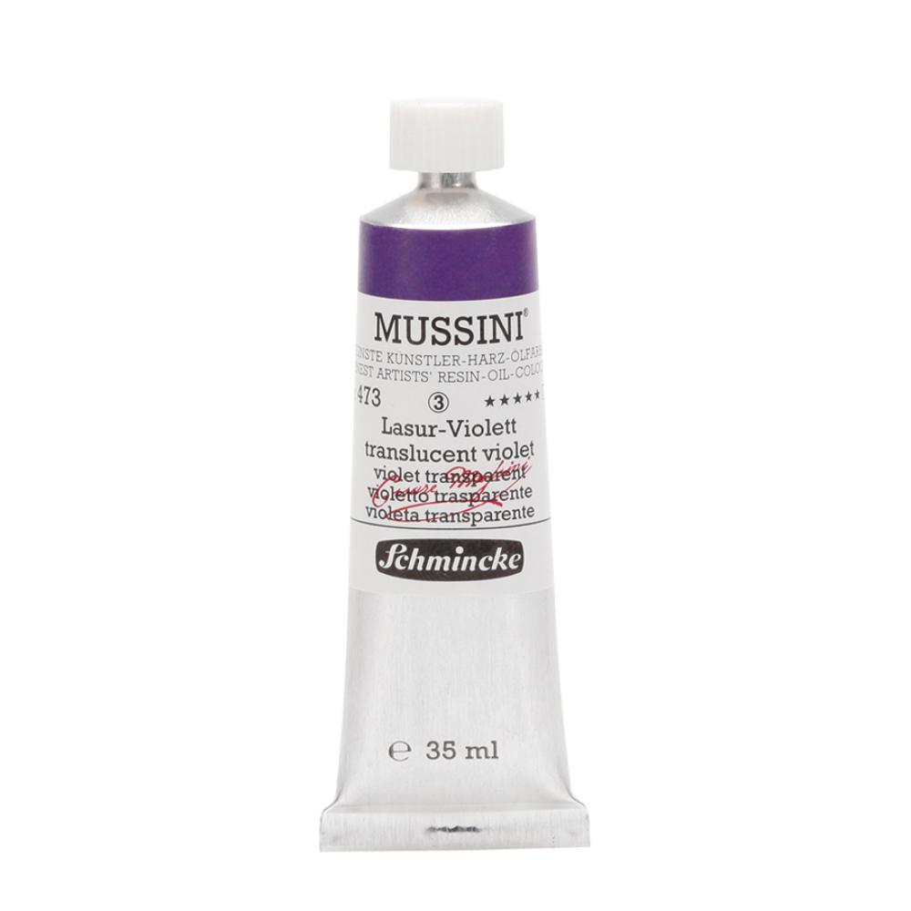 Schmincke Mussini Translucent Violet 473 Yağlı Boya 35 ml, Yağlı Boya, Schmincke, kanvas tablo, canvas print sales