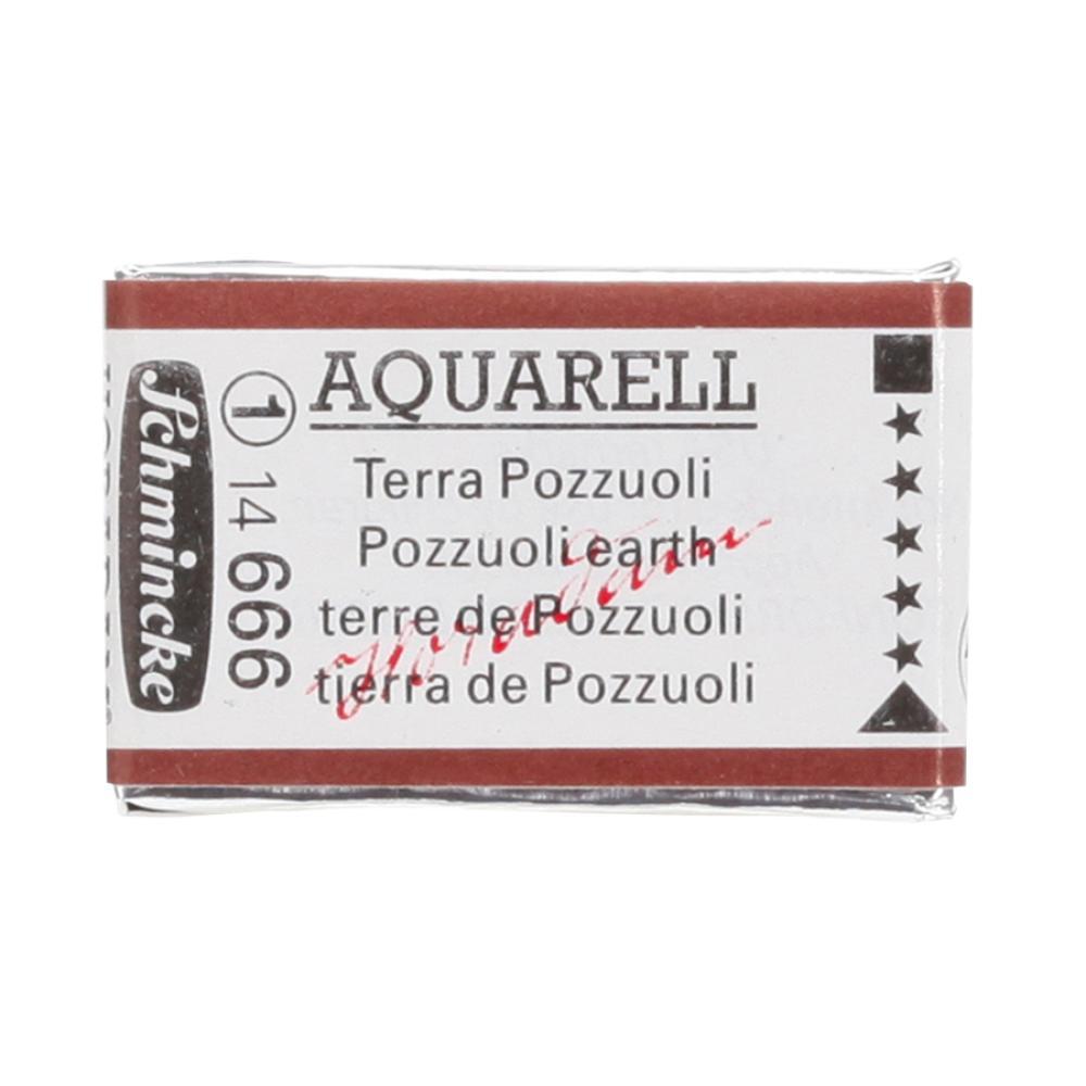 Schmincke H Aquarell 1/1 tab Pozzuoli Earth 666 suluboya, Suluboya, Schmincke, kanvas tablo, canvas print sales