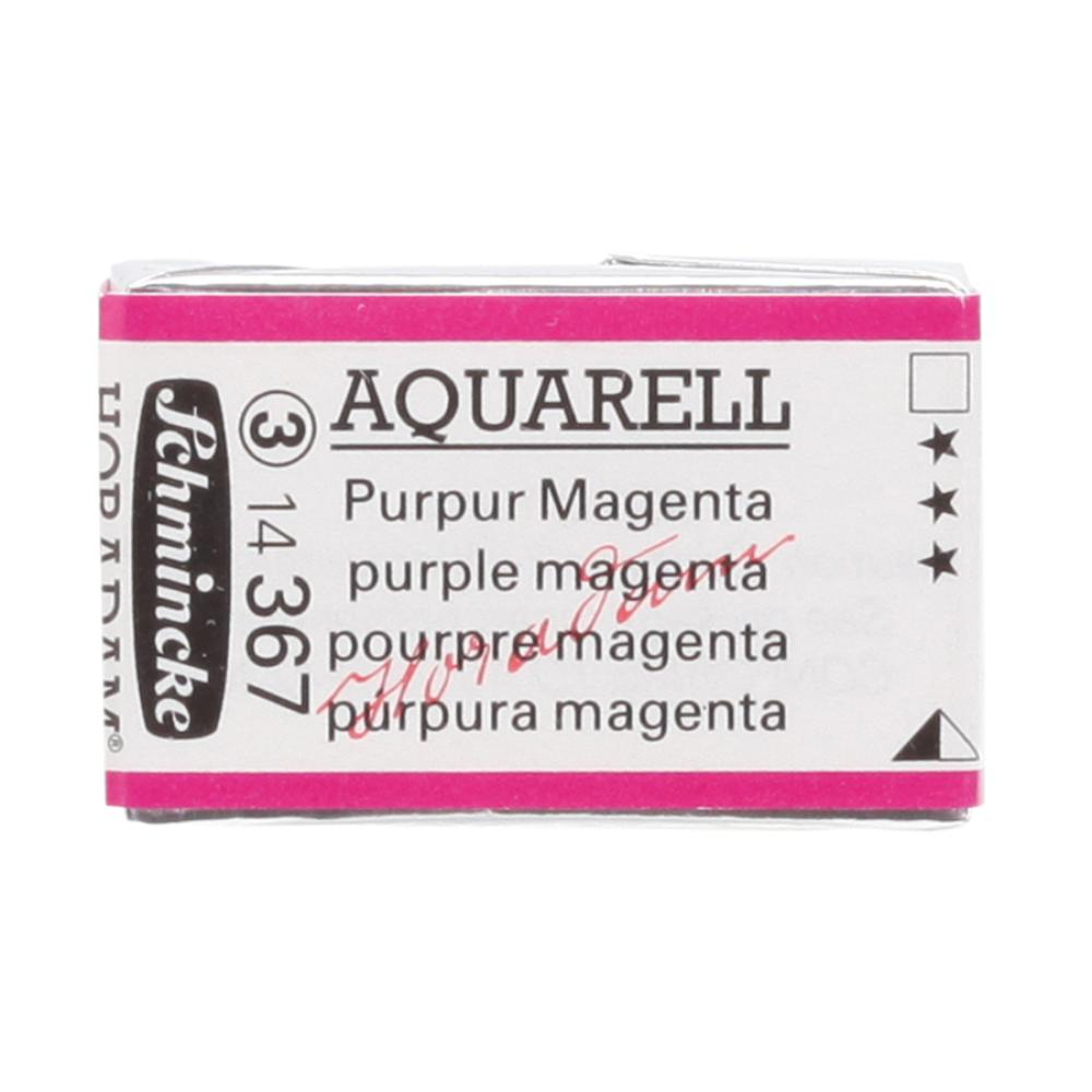 Schmincke H Aquarell 1/1 tab Purple Magenta 367 suluboya, Suluboya, Schmincke, kanvas tablo, canvas print sales