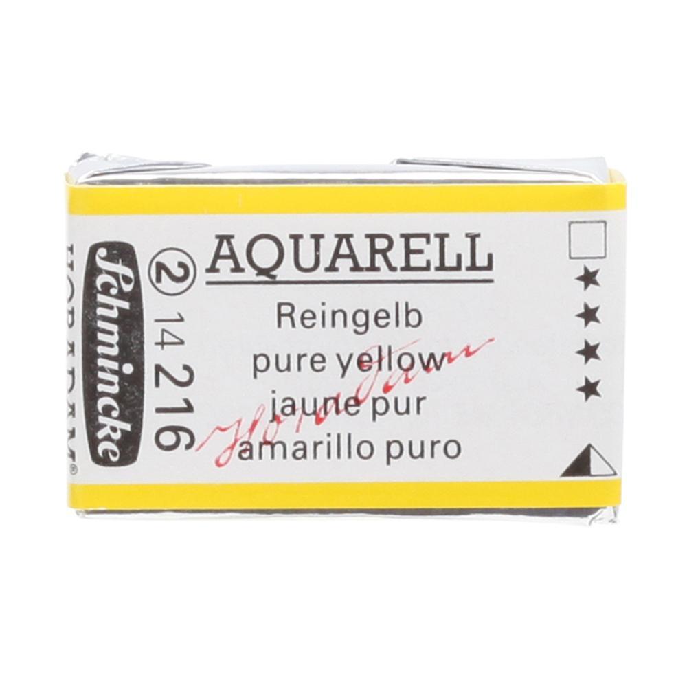Schmincke H Aquarell 1/1 tab Pure Yellow 216 Suluboya, Suluboya, Schmincke, kanvas tablo, canvas print sales