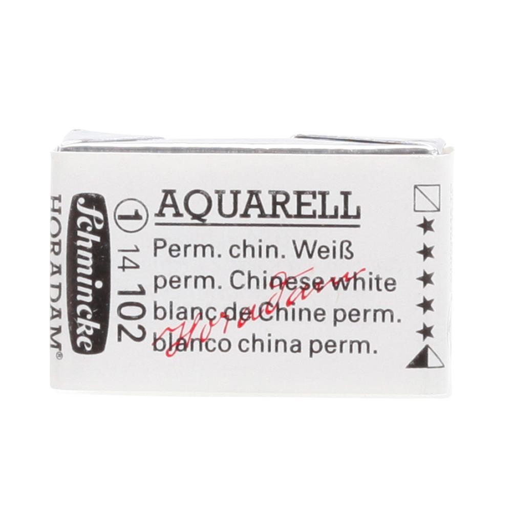 Schmincke H Aquarell 1/1 tab Permanent Chinese White 102 Suluboya, Suluboya, Schmincke, kanvas tablo, canvas print sales
