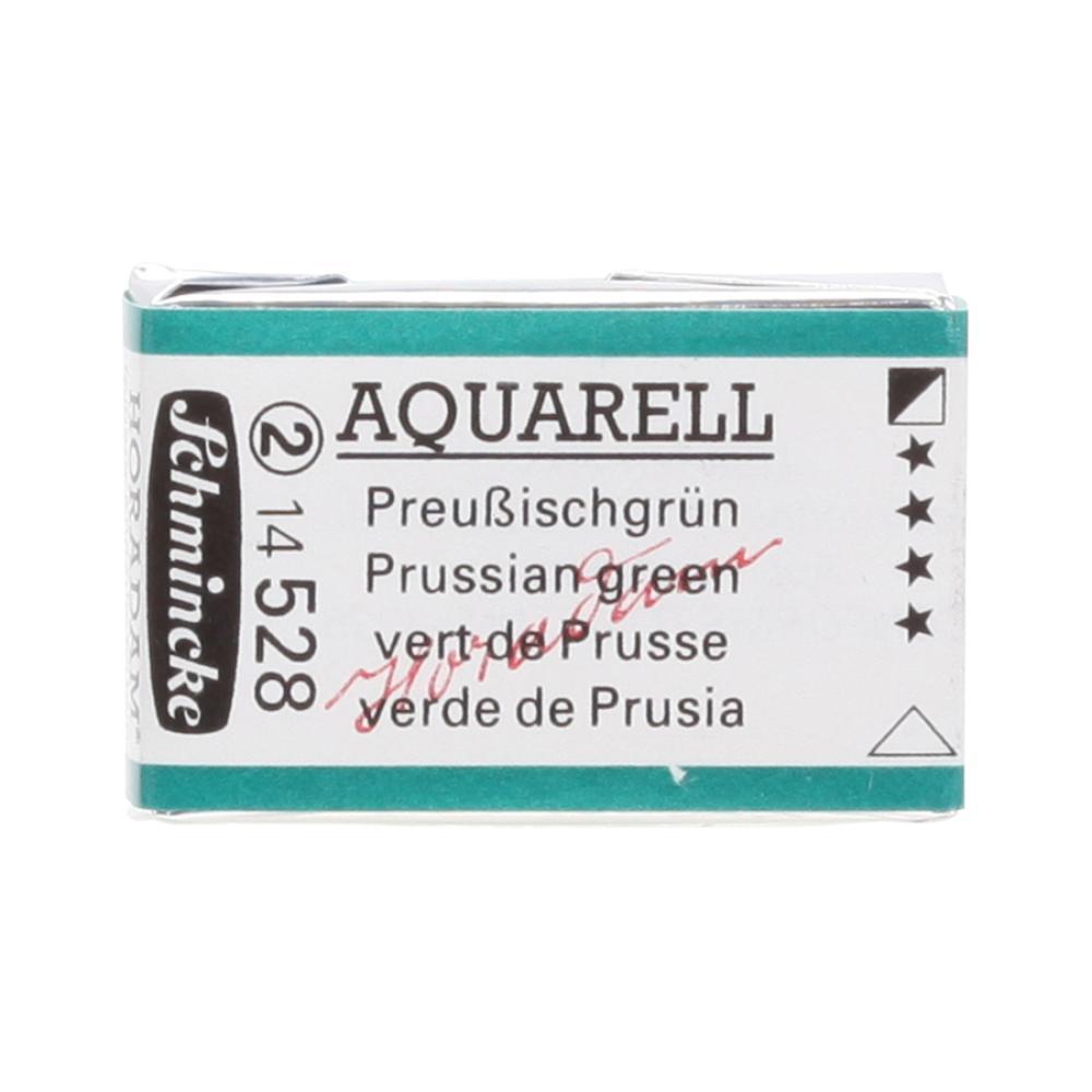 Schmincke H Aquarell 1/1 tab Prussian Green 528 Suluboya, Suluboya, Schmincke, kanvas tablo, canvas print sales