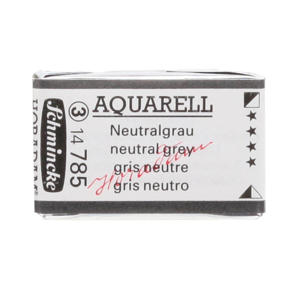 Schmincke H Aquarell 1/1 tab Neutral Grey 785 Suluboya, Suluboya, Schmincke, kanvas tablo, canvas print sales