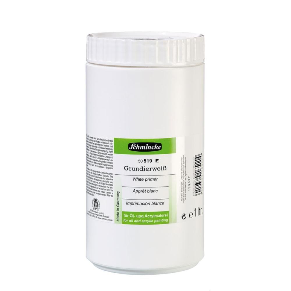 Mediums White Primer 519 Beyaz Astar Boya 1000 ml, Yardımcı Malzemeler, Schmincke, kanvas tablo, canvas print sales