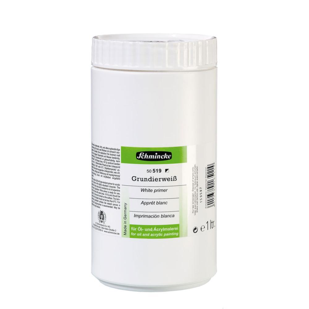 1000 ml Mediums White Primer 519, Auxiliary Materials, Schmincke, kanvas tablo, canvas print sales