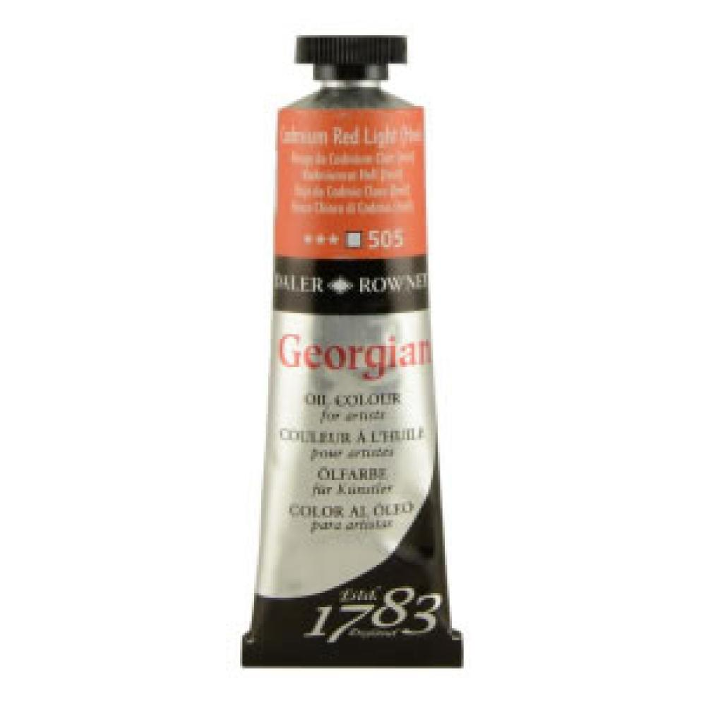 Daler Rowney Georgian Oil Paint 38 ml Cadmium Red Light, Oil Paint, Marka: Daler Rowney, kanvas tablo, canvas print sales
